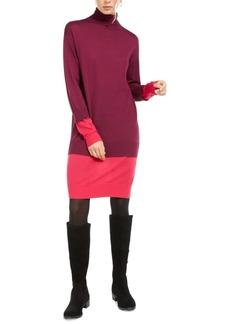 Escada Sport Turtleneck Double-Layer Dress