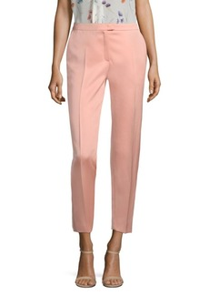 Escada Taxina Dutchess Satin Ankle Pants