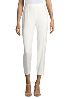 Escada Tsisana Side-Zip Ankle Pants