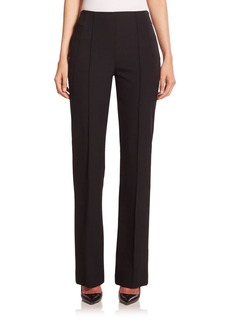 Escada Tzella Straight-Leg Techno Pants