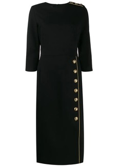 Escada fitted midi dress