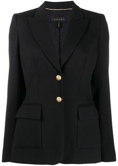 Escada fitted single-breasted blazer
