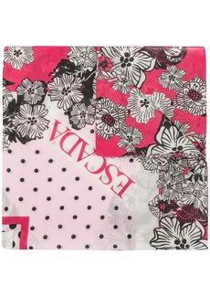 Escada floral print scarf