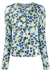 Escada floral print shirt