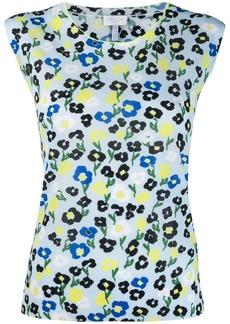 Escada floral print vest top