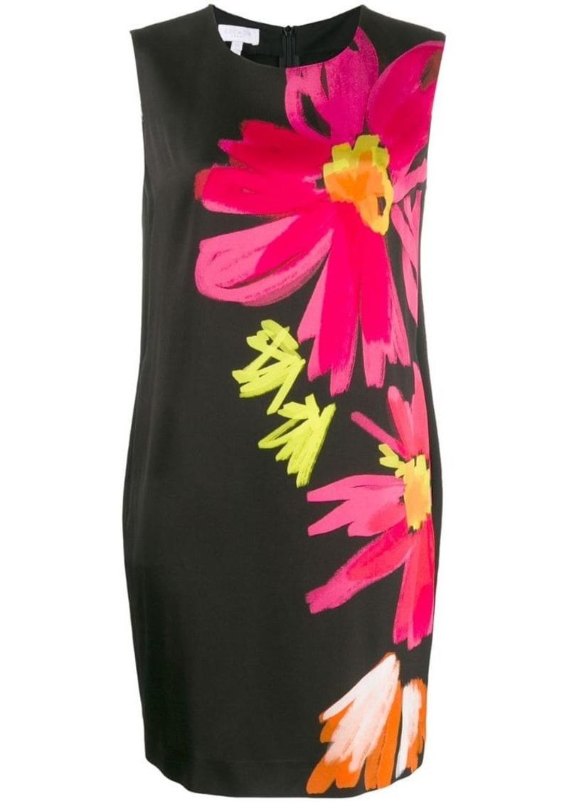Escada floral shift dress