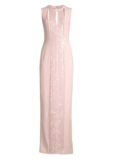 Escada Gabalu Beaded Gown