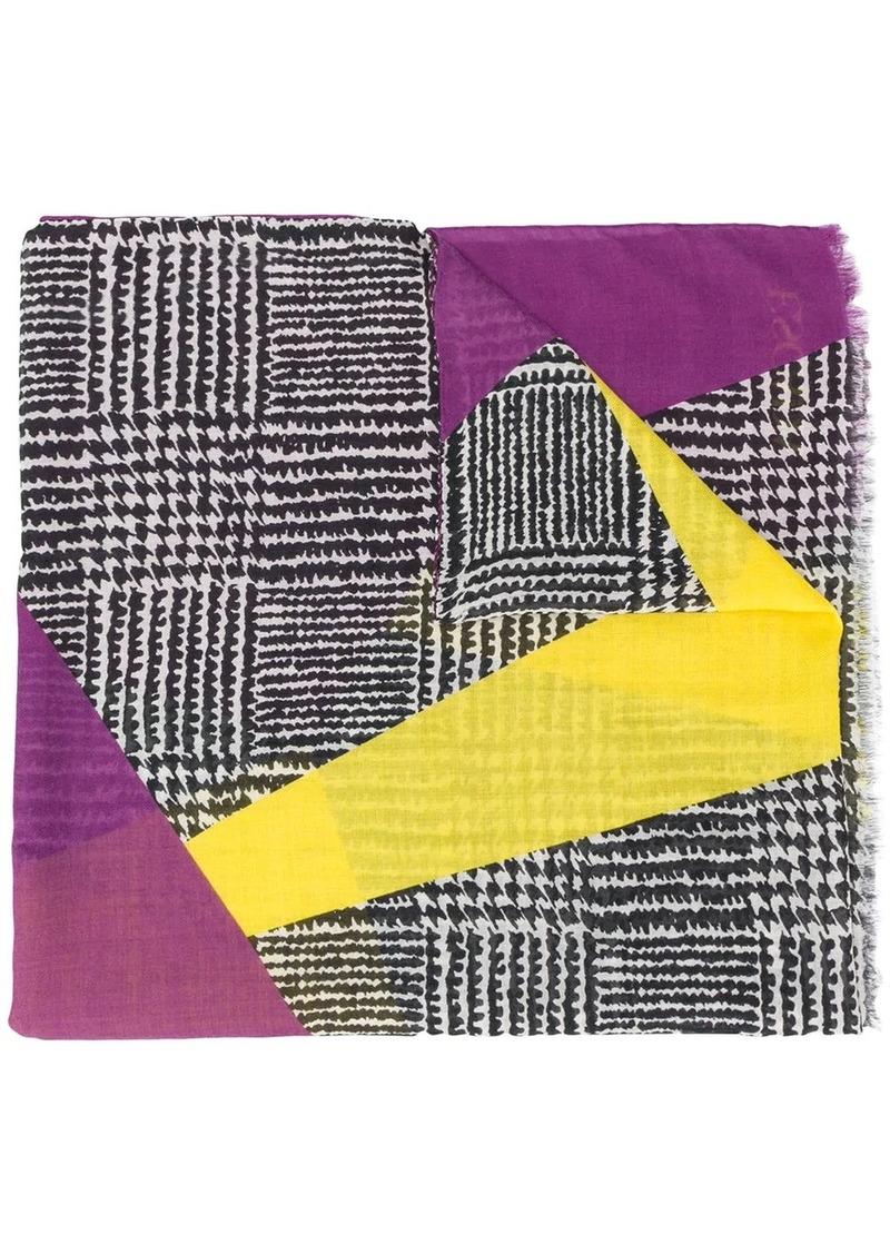 Escada graphic print scarf