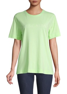Escada Graphic Short-Sleeve Cotton Tee