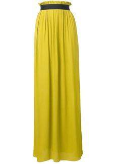 Escada high-waisted maxi skirt