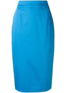Escada high-waisted pencil skirt