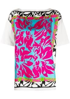 Escada hyper floral-print T-shirt