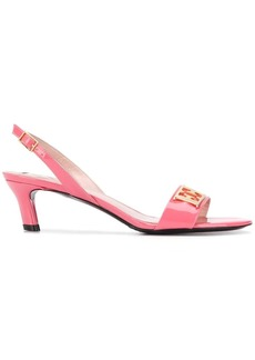 Escada kitten heel sandals