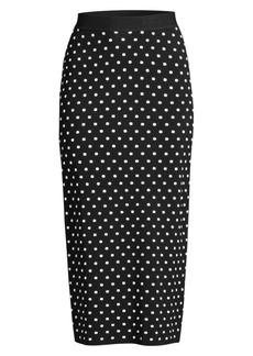Escada Knit Pencil Skirt