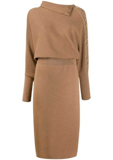 Escada knitted midi dress