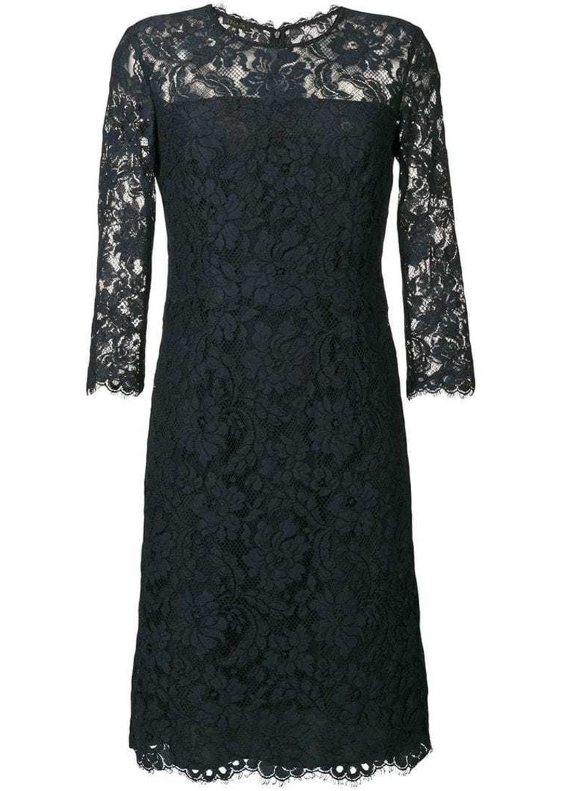 Escada lace dress