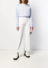Escada lace embellished shirt