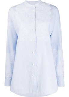 Escada lace embellished shirt