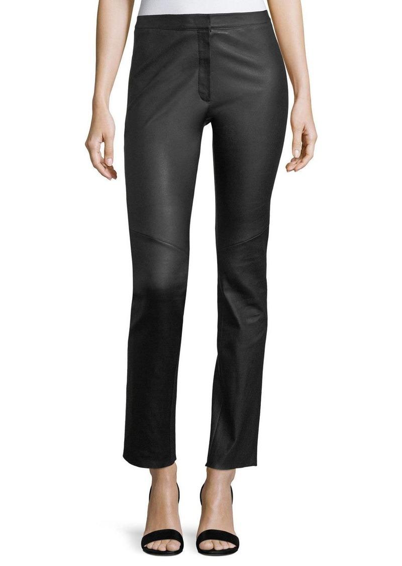Escada Lakera Leather Slim Pants