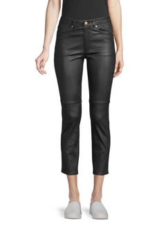 Escada Limby Leather Pants