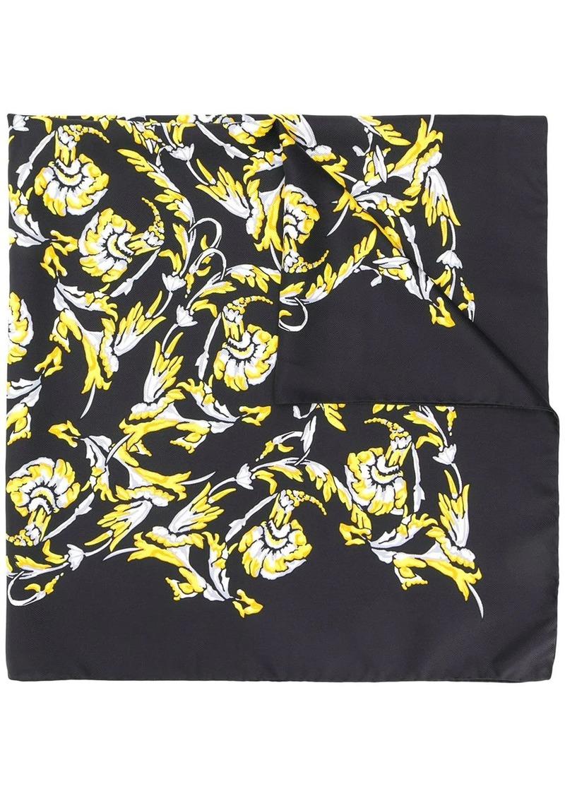 Escada logo print scarf