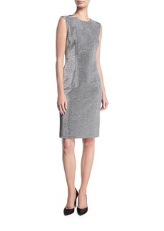 Escada Lurex® Sleeveless Cocktail Sheath Dress