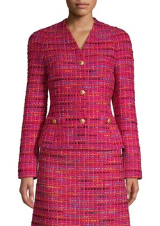 Escada Multicolor Tweed Jacket
