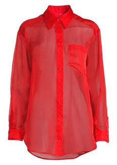 Escada Nalice Silk Blouse