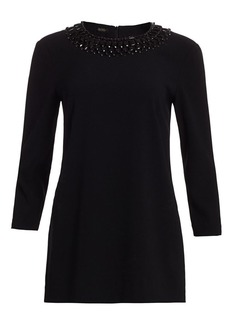 Escada Narayanita Embellished Top