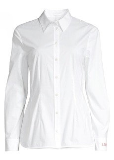 Escada Natalies Love Poplin Blouse