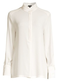 Escada Nissi Stand Collar Blouse
