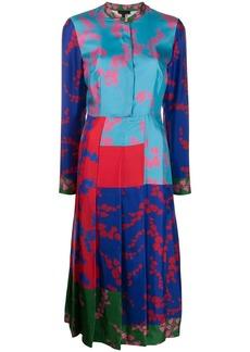 Escada pleated design dress