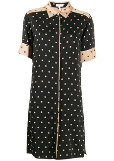 Escada polka-dot shirt dress