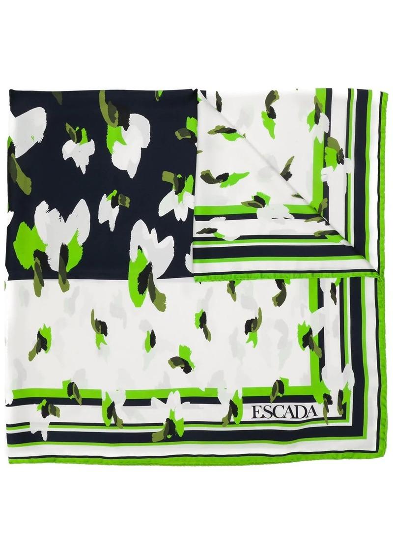 Escada printed scarf