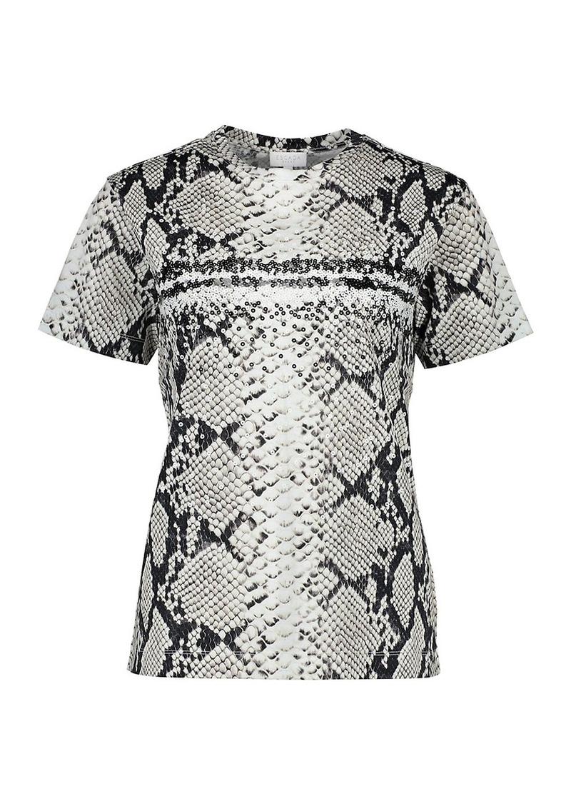Escada Python Short Sleeve T-Shirt