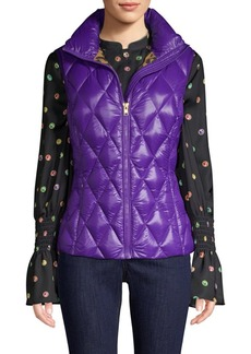 Escada Quilted Puffy Vest