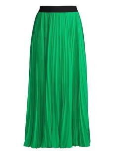Escada Raheem Pleated Maxi Skirt