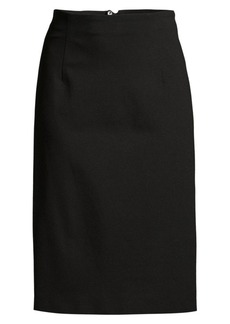 Escada Ramisi Jersey Ruched Back Pencil Skirt