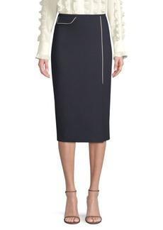 Escada Randhi Wool-Blend Pencil Skirt