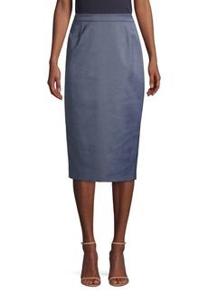 Escada Randu Micro Birdseye Skirt