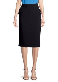 Escada Rhia Wool-Blend Pencil Skirt