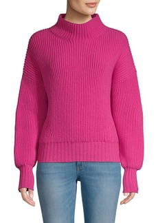 Escada Rib-Knit Virgin Wool & Cashmere Sweater