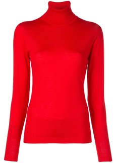 Escada roll-neck fitted sweater