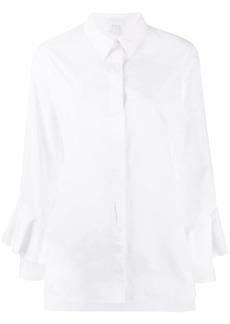 Escada ruffled sleeved shirt