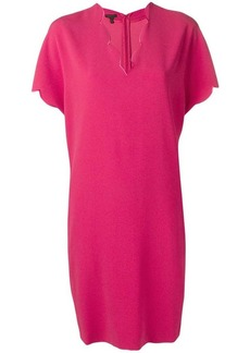 Escada scalloped edge dress