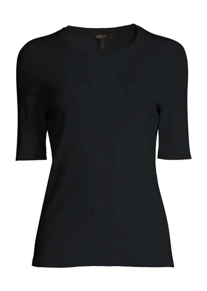 Escada Sensial Jersey Stitched Tee