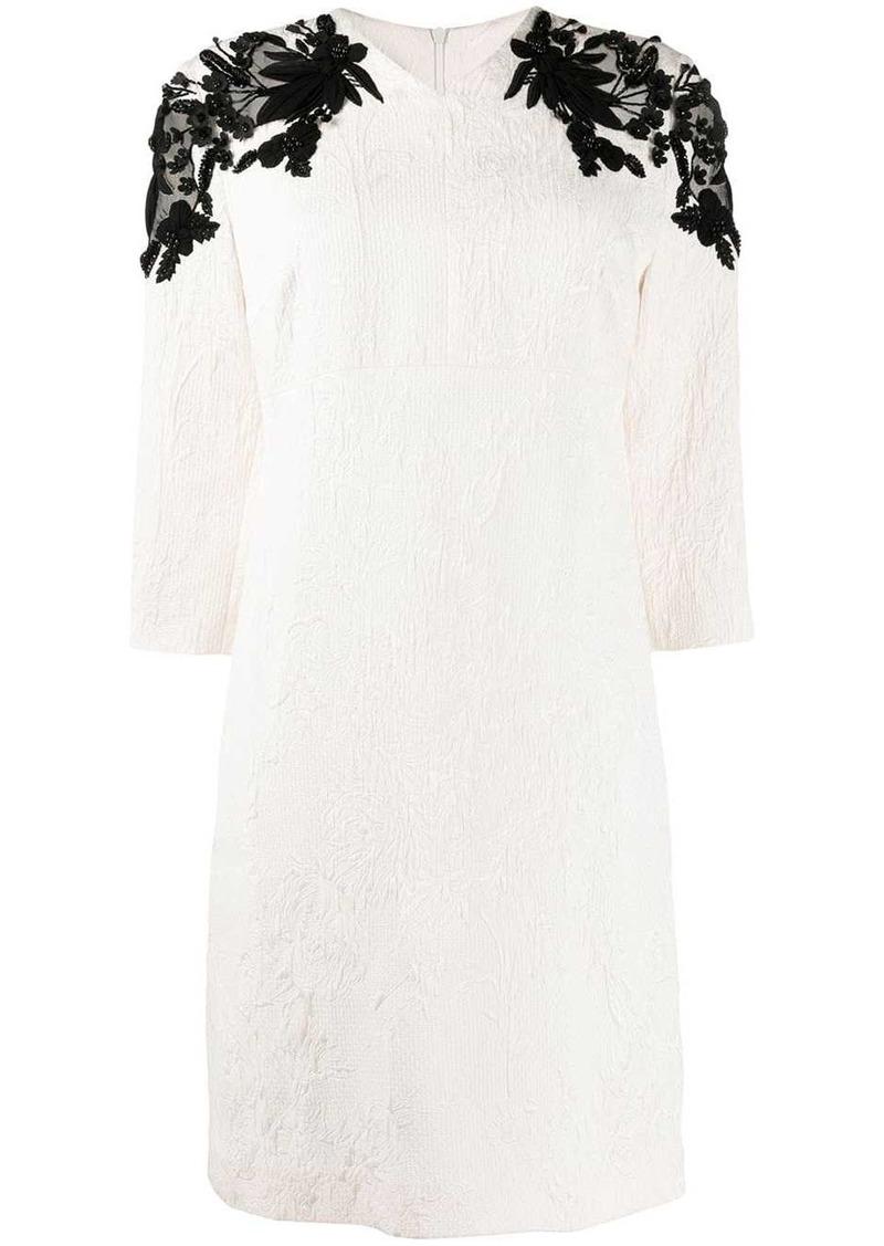 Escada sequin embellished dress