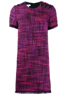 Escada short tweed dress