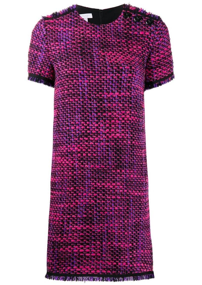 Escada short tweed dress