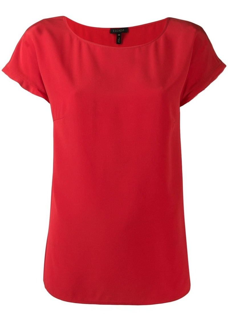 Escada shortsleeved blouse